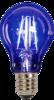 Foco de filamento LED | 4.5W | A 19 | 127V | E27. Azul. Tecnolite Aplicaciones