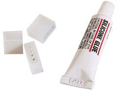 Tubo de silicon tapones para aislar tiras y o m%c3%b3dulos