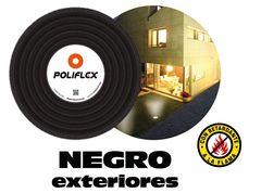 Poliflex 1 2 negro rollo 100 m para exteriores poliflex 1