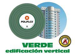 Poliflex 3 4 verde para plafones y tablaroca rollo 50 m poliflex