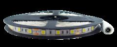 Tira flexible de led blanco calido 5050 smd a 12v ip65 3000k 55w 11w m 5 metros exterior