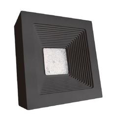 Quadrata luminario para sobreponer en muro exterior tecnolite